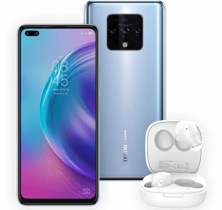 Tecno Camon 16 Premier smartphone was launched on 4th September 2020. The phone comes with a 6.90-inch touchscreen display with a resolution of 1080x2460 pixels.