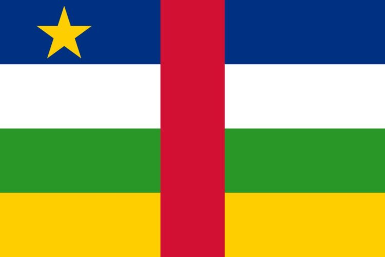 Flag of the Central-African Republic