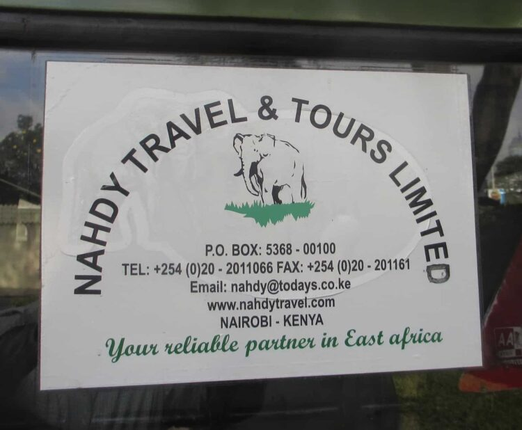Nahdy Travel and Tours Limited