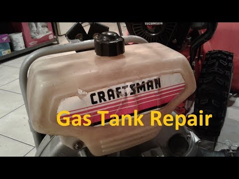 YouTube Plastic Gas Tank Repair - Fast & Easy Small Engine Fix